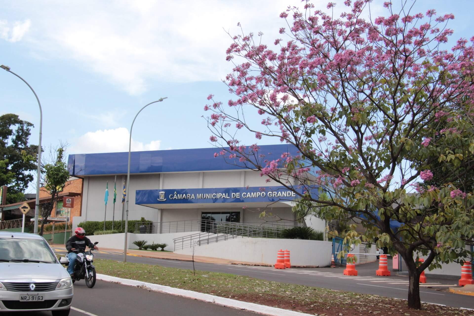 Câmara Municipal de Campo Grande receberá audiência nesta quarta (Foto: Divulgação)