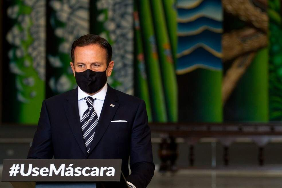 Governador de São Paulo, João Doria (PSDB) (Foto: Bruno Escolastico/Estadão Conteúdo)