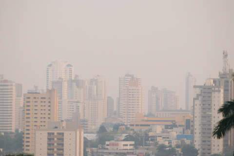 Fumaça de queimada que esconde Campo Grande escancara riscos para saúde