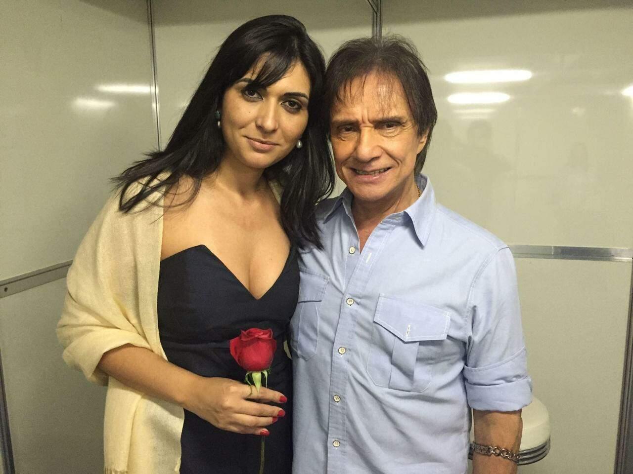 Antonia conheceu Roberto Carlos 22 vezes. (Foto Arquivo Pessoal)