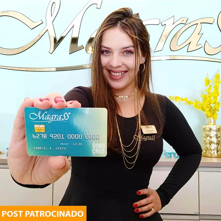 Clínica Magrass ainda criou cartão de crédito próprio para cliente conseguir parcelar todo tratamento. (Foto: Divulgação)