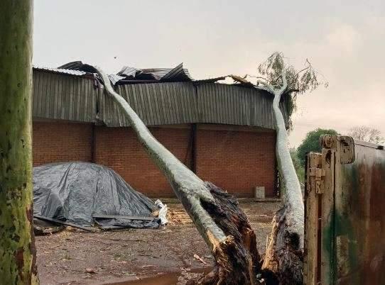 Depois de chuva com granizo, Inmet alerta para temporais em 38 cidades de MS