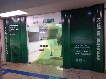 Servidora testa positivo e mais uma agência do Detran fecha na Capital