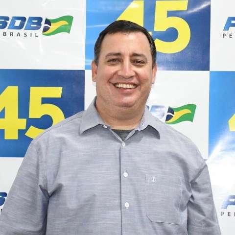 Candidato à reeleição, prefeito de Aquidauana está com a covid-19