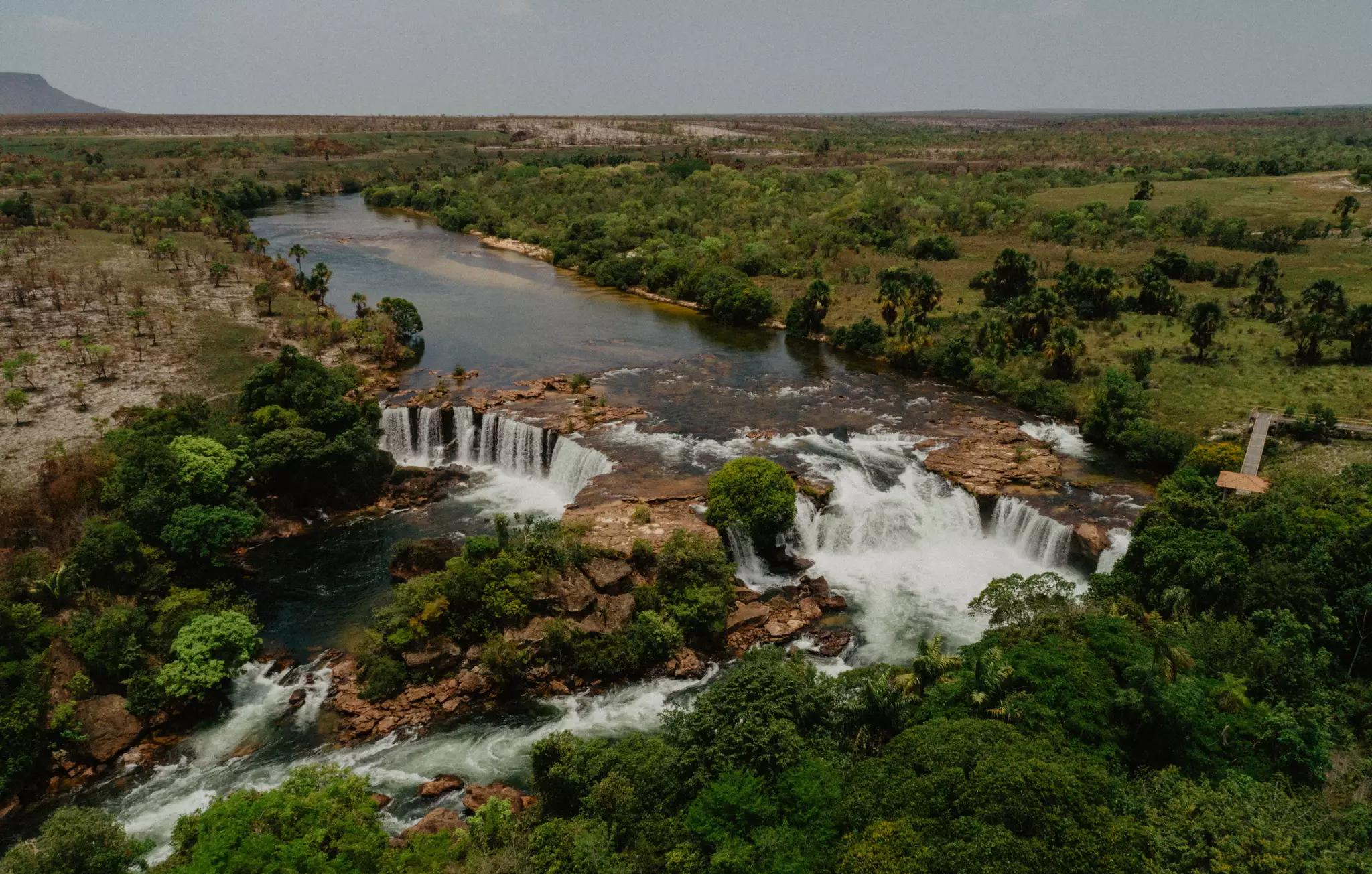 Cachoeiras incríveis registradas pelo campo-grandense. (Foto: Nicolas Carrelo)