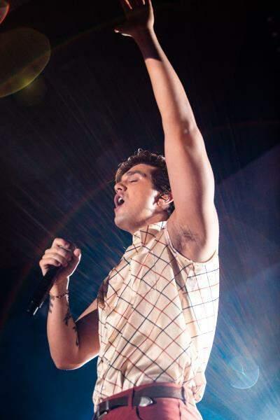 Também no dia 22 de novembro – mas do ano passado – clique mostra o último show de Luan no muncípio de Dourados (Foto: Divulgação/Luan Santana)