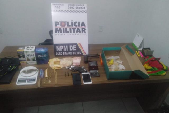 Bandidos invadem casa, estupram vítima no MT e são presos em Sonora