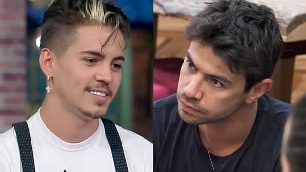 """Os peões Biel e Mariano tiveram """"desacerto"""" no decorrer da semana (Foto: Reprodução/Playplus)"""