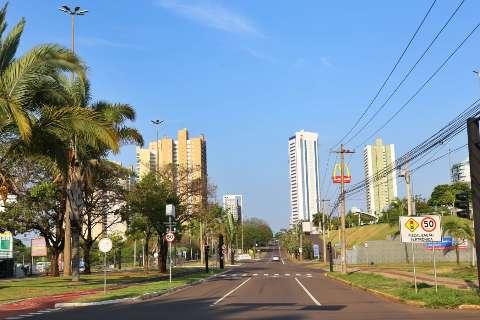 Domingo será de chuvas em áreas isoladas e máxima de 37 °C em Mato Grosso do Sul