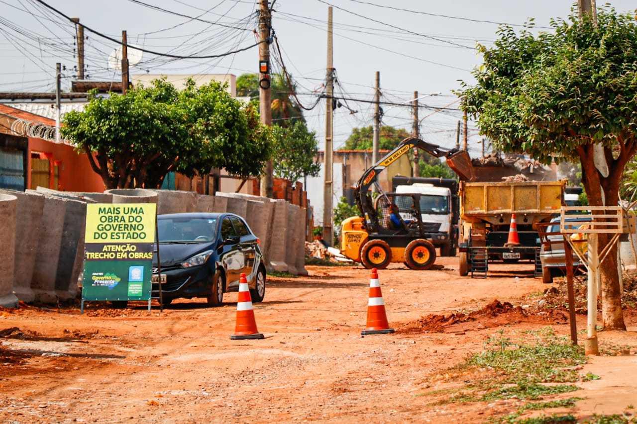 Previsão do governo é de entregar primeira etapa da obra até o fim do ano. (Foto: Henrique Kawaminami)