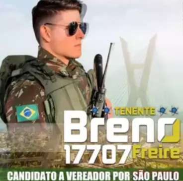 Influencer militar deixa MS para virar candidato a vereador em SP