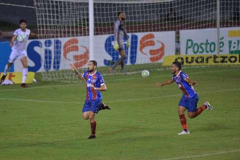 Com dois de Gilberto, Bahia vence de virada e Atlético-MG cai para o 3º lugar