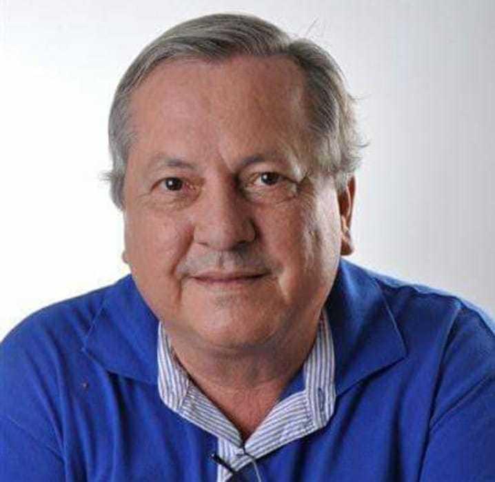 Jornalista Luiz Correia da Silveira Filho, de 67 anos, morreu nesta segunda (Foto: Arquivo pessoal)
