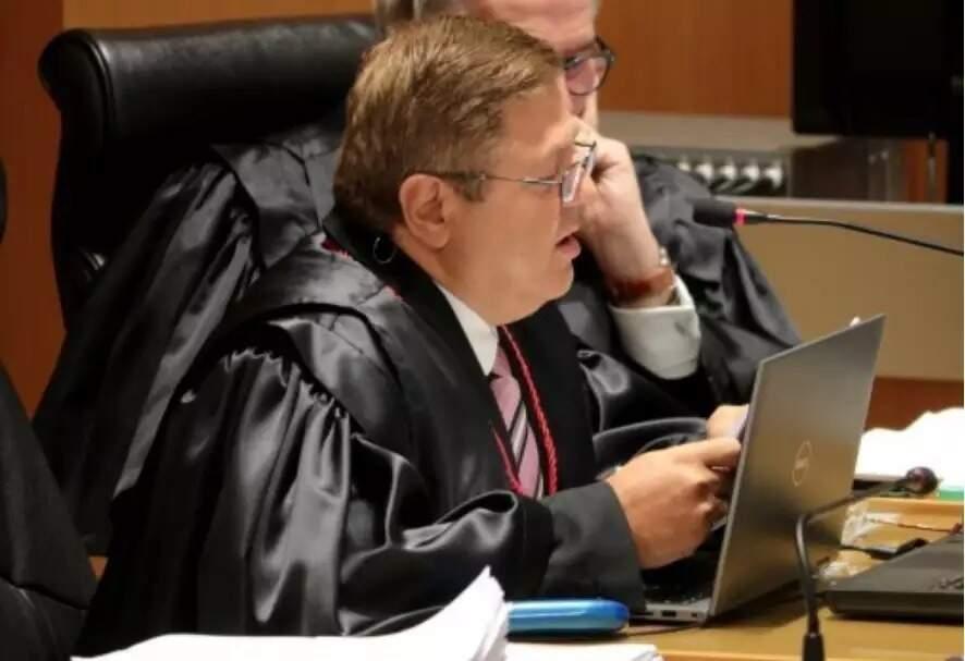 O desembargador Jonas Hass, relator do processo em que foi mantida acausação contra réus por tentativa de assassinato. (Foto: Arquivo/Campo Grande News)