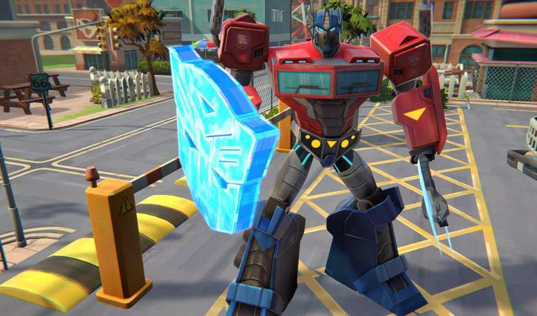 Transformers: Campo de Batalha coloca o poderoso líder dos Transformers, Optimus Prime, na missão de expulsar os temidos Decepticons.