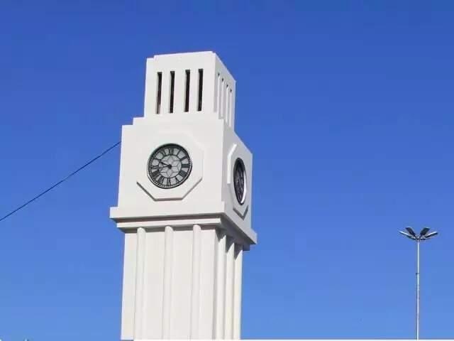 Relógio da Calógeras no Centro de Campo Grande (Foto: Marina Pacheco/Arquivo)