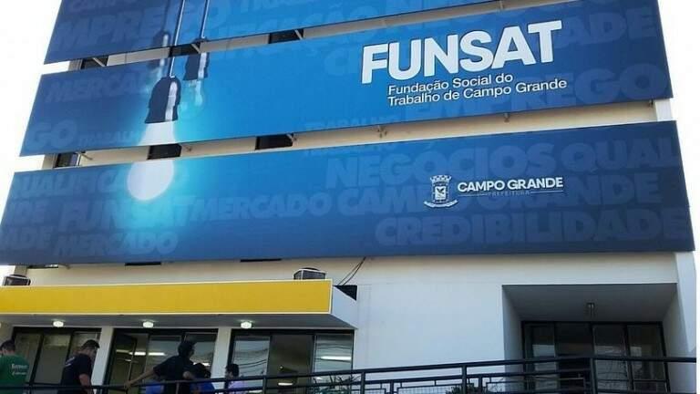 Fachda da Fundação Social do Trabalho, em Campo Grande (Foto: arquivo/Campo Grande News)