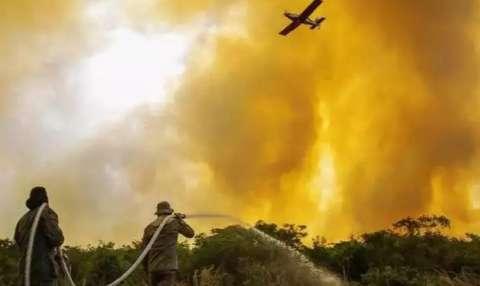 MS recebe última parcela de recurso federal no combate às queimadas no Pantanal