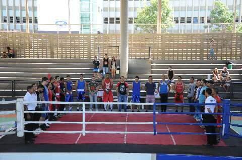 Boxe de MS retorna com torneio de execução de movimentos