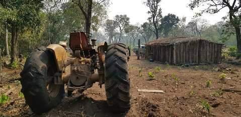 Operação da PF investiga desmatamento e invasão na terra dos kadiwéu