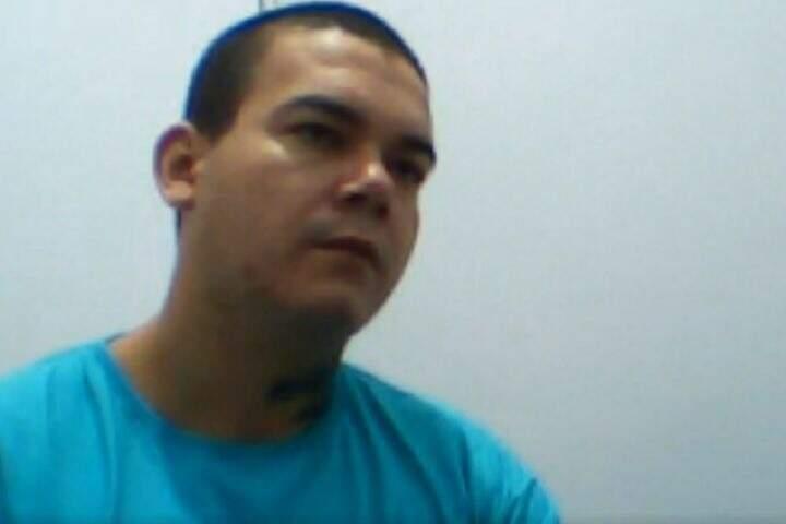 José Humberto segue preso em Campo Grande. Júri foi por videoconferência. (Foto: Reprodução/TJ MS)