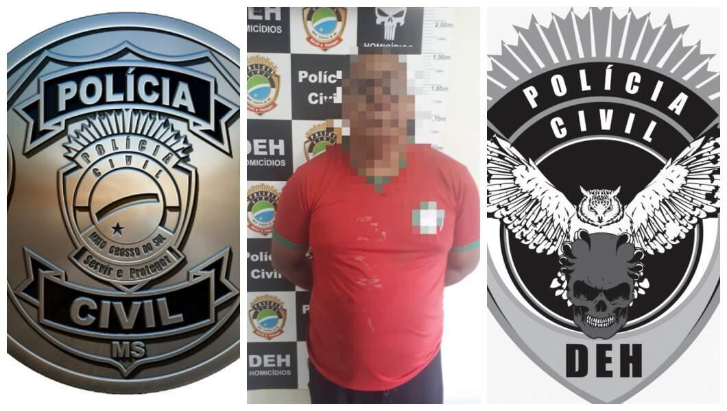 Foto de Marcos Antonio de Arruda Moraes divulgada pela Delegacia de Homicídios. (Foto: Divulgação)