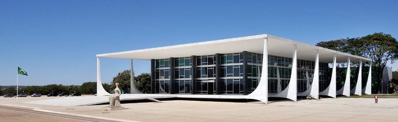 Sede do STF, que manteve a arrecadação de imposto sobra o gás boliviano nas receitas de Mato Grosso do Sul. (Foto: Divulgação)