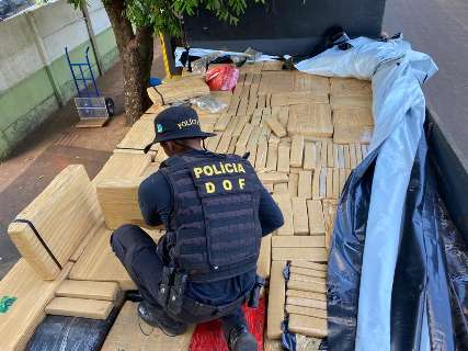 Traficantes são presos com 6 toneladas de maconha na MS-040