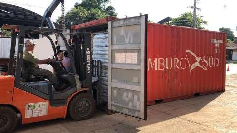 Corpos em decomposição são achados em container no Paraguai