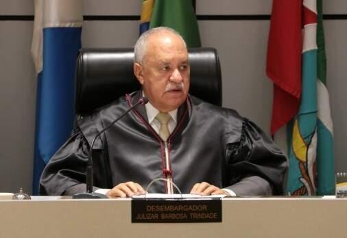 Desembargador Julizar Barbosa Trindade, relator do processo. (Foto: Divulgação   TJMS)
