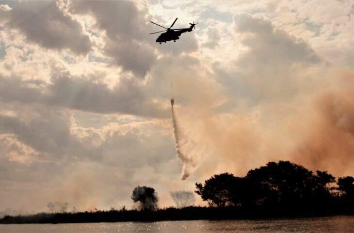 Aeronave deve ser adquirida pelo governo do Estado para combater incêndios florestais, mas ainda não há detalhamentos. (Foto: Governo de MS)