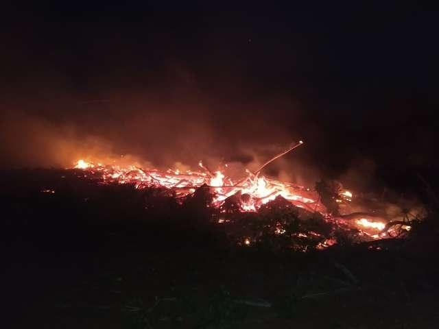 Dono de chácara é multado por incêndio em vegetação na MS-450
