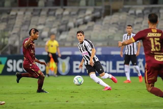 Atlético-MG falha nas finalizações e só empata com o Sport em casa