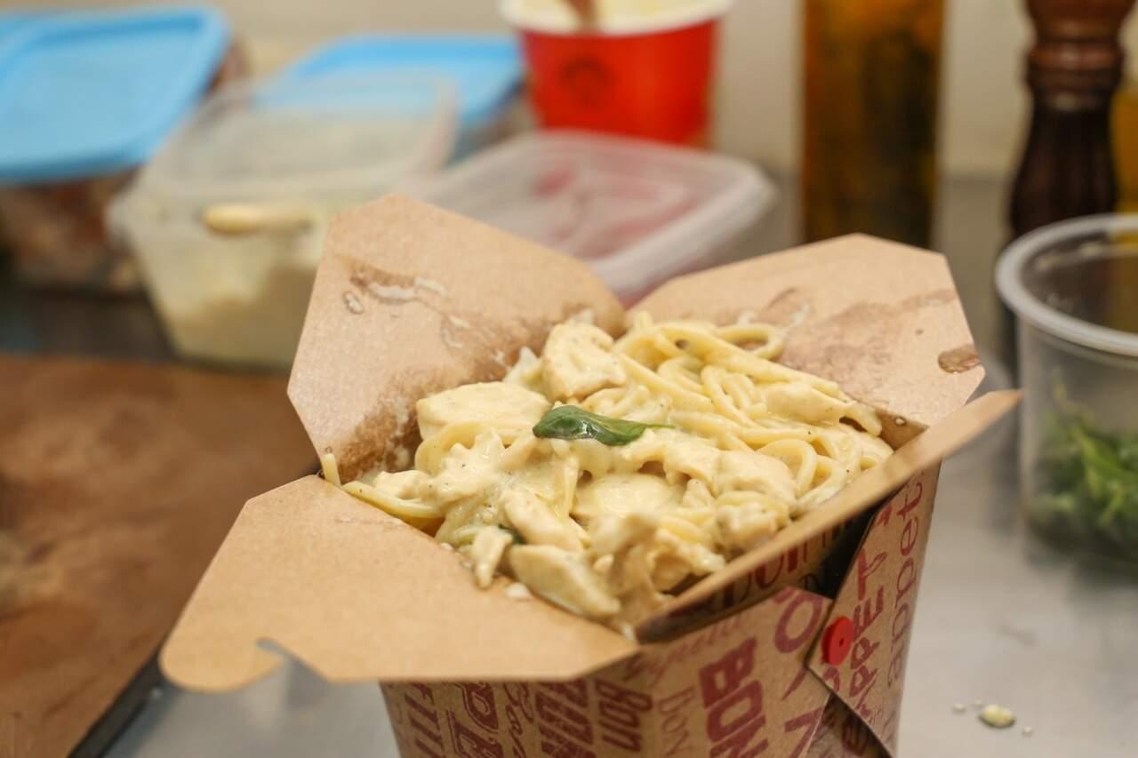 São 800 gramas de pasta (Foto: Paulo Francis)