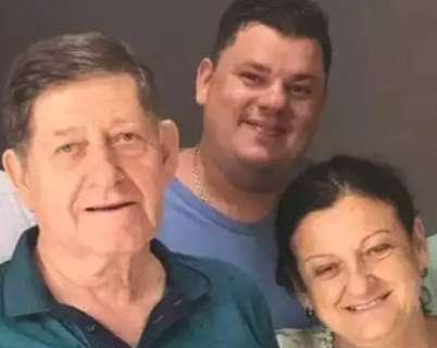 Pai, mãe e filho mortos em BR-262 são enterradas no interior de São Paulo
