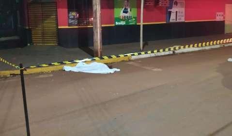 Homem morre atropelado e condutor foge sem prestar socorro em Rio Brilhante