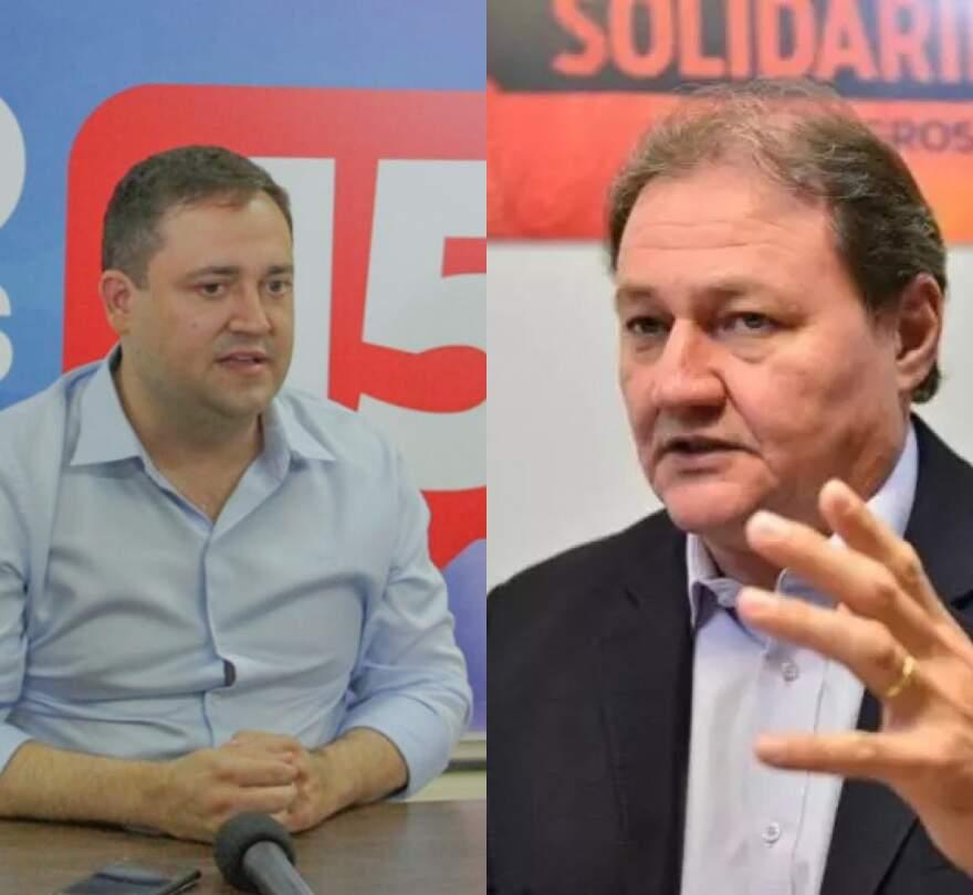 Ambos candidatos foram alvo de reclamação da chapa de Marquinhos Trad (Fotos: Divulgação)