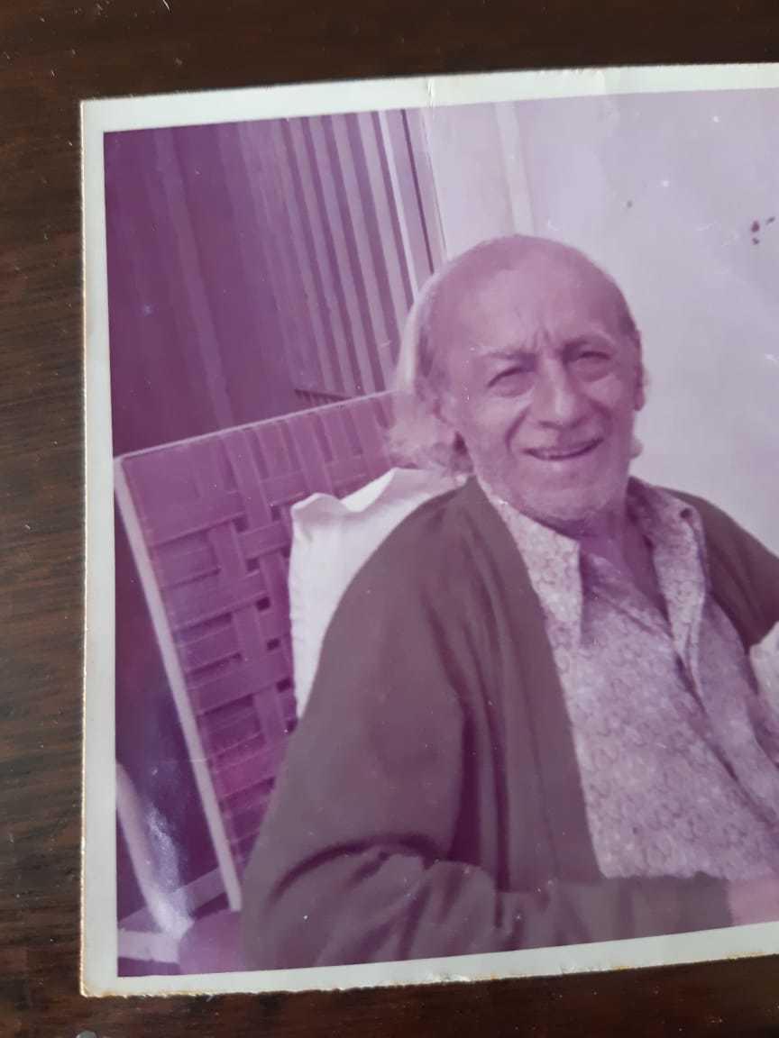 Foto de Giuseppe Marchitto, fundador do restaurante que faleceu em 1973.