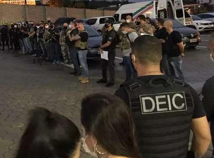 Ação mira grupo que fazia assaltos violentos para trocar por droga em MS