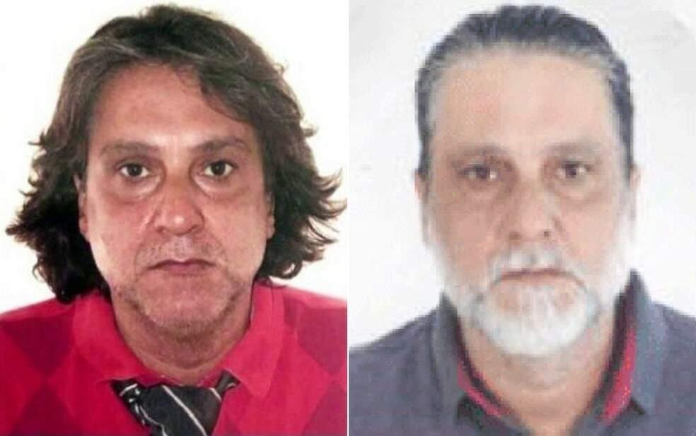 Fotos dois documentos: à esquerda como Paulo Cupertino e à direita como Manoel. (Foto: Reprodução)