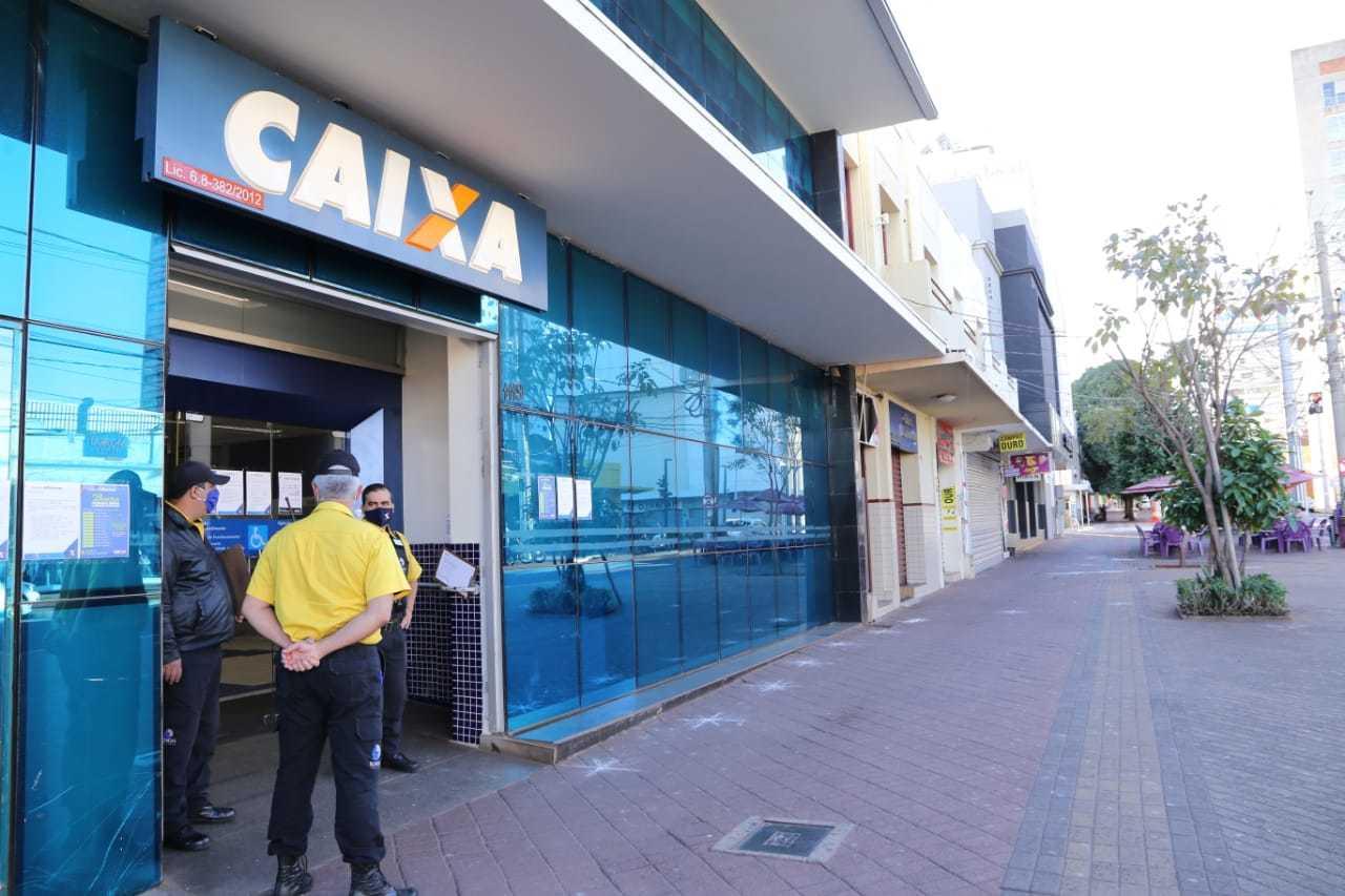 Caixa Econômica Federal faz nova rodada de pagamento do benefício. (Foto: Kísie Ainoã)