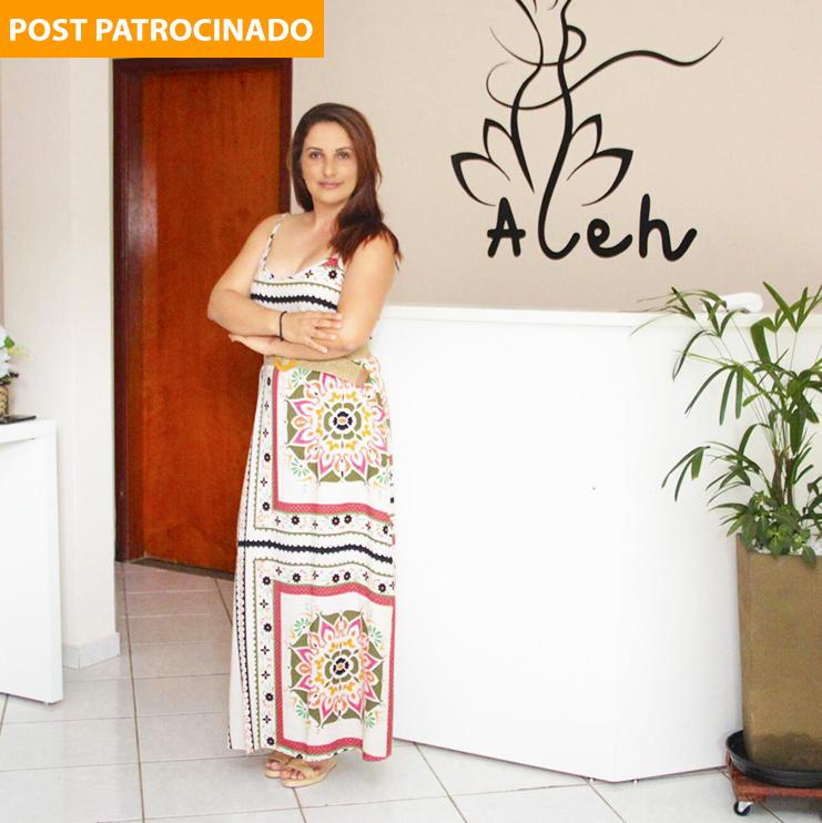 Dona da Aleh Estética, Alexandra Lima abandonou carreira na construção civil para estudar e se especializar no universo da beleza. (Foto: Marcos Maluf)