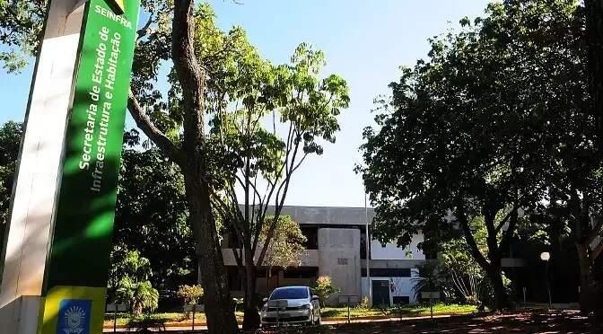 Sede da Agesul, no Parque dos Poderes, em Campo Grande (Foto: Divulgação - Seinfra)