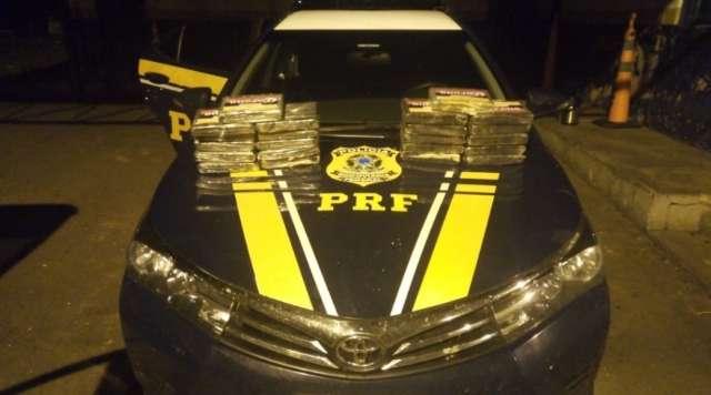 Veículo é apreendido com carga de cocaína avaliada em R$ 1,2 milhão