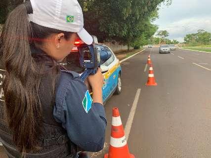 Mudança na lei proíbe operação contra abuso de velocidade em Campo Grande