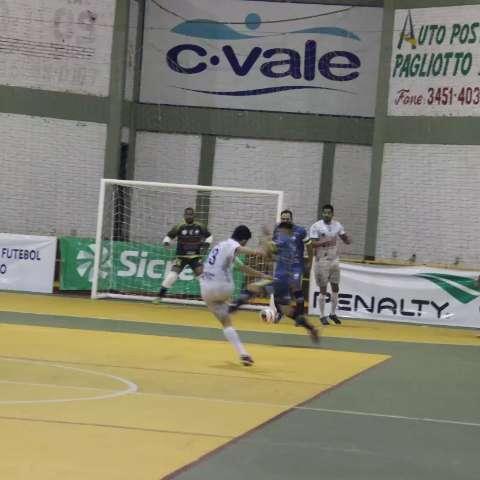 Time de MS é goleado por 5 a 1 na estreia da Copa do Brasil de Futsal