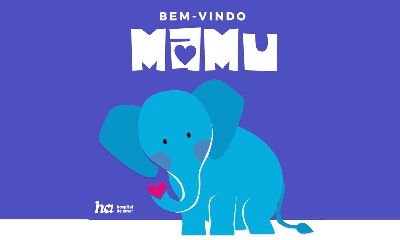 Para a campanha do Outubro Rosa, Mamu é o mascote escolhido pelo Hospital de Amor (Foto: Divulgação)