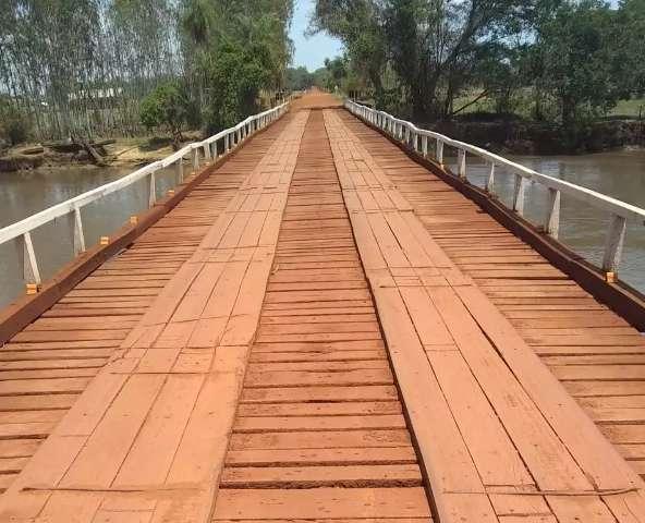 Córrego Pedro Gomes e Rio Dourados vão receber novas pontes de concreto