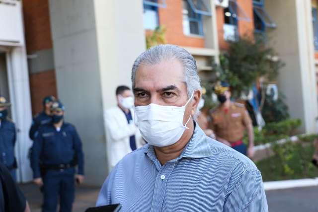 Reinaldo se afasta por 4 dias e Murilo Zauith assume o governo