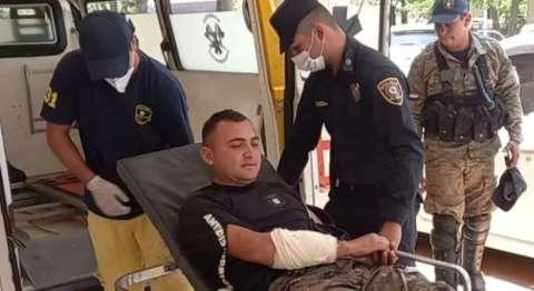 Policial é ferido em confronto com campesinos em área dominada pelo tráfico